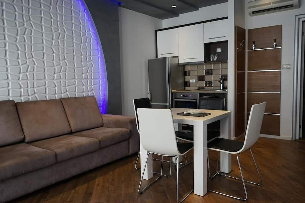 غرفة عائلية رباعية - غرفة معيشة