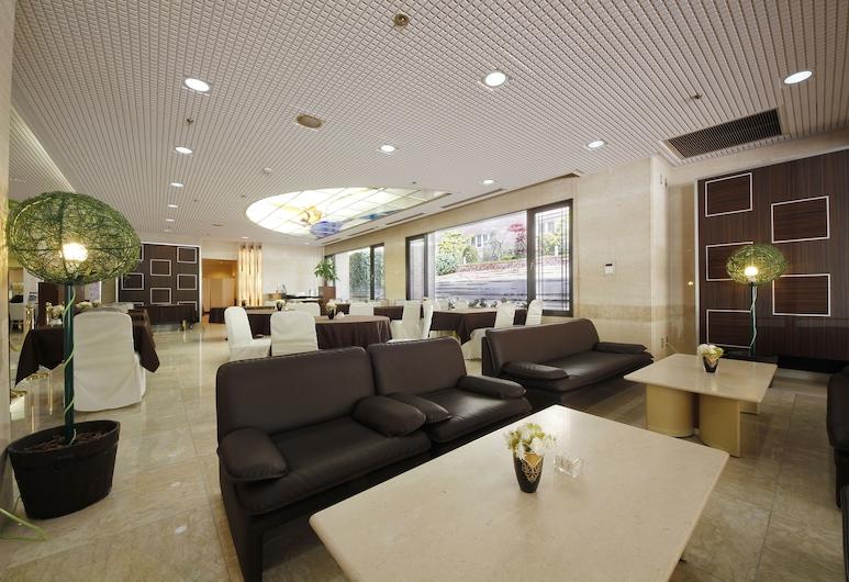 Hotel Hiroshima Garden Palace, Hiroshima, Lobby Sitting Area