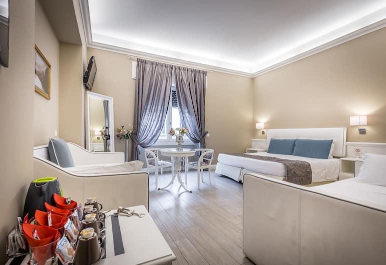 德羅拉芙酒店, 佛羅倫斯, 四人房, 客房