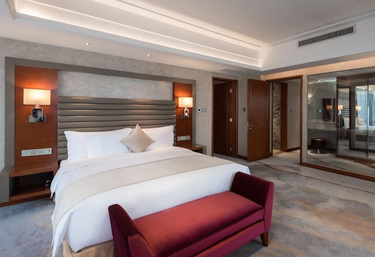 Crowne Plaza Shenyang Parkview, Shenyang, Izba typu Club, 1 extra veľké dvojlôžko, fajčiarska izba, Hosťovská izba