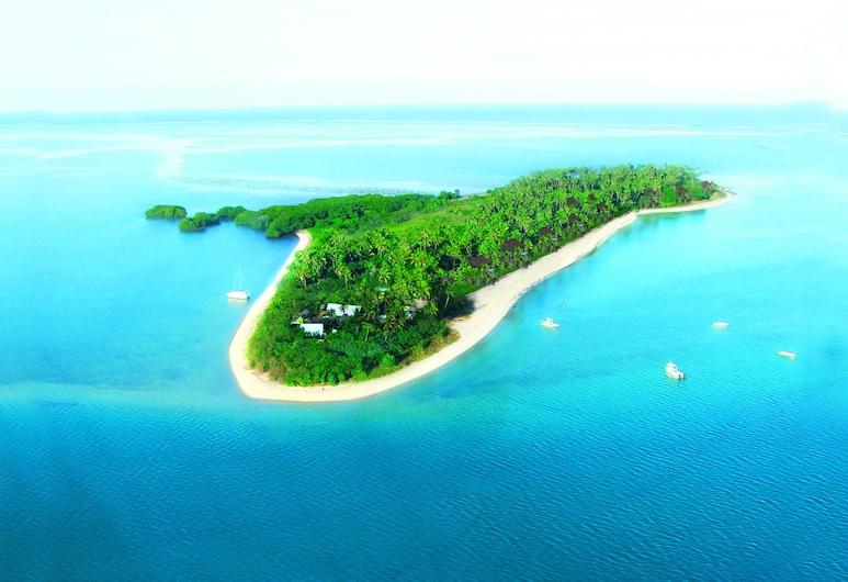 Likuri Island Resort Fiji, Đảo Robinson Crusoe, Cảnh từ trên cao