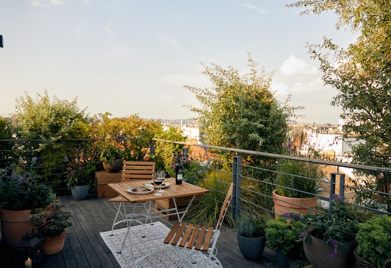 Mosaic House Design Hotel, Prag, Penthouse Suite with Terrace, Terrass