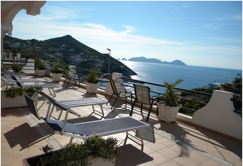 Hotel Ortensia, Ponza, Terrace/Patio