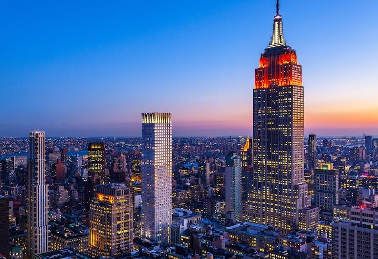 The Langham, New York, Fifth Avenue, Nova York, Quarto família, Vista (do quarto)