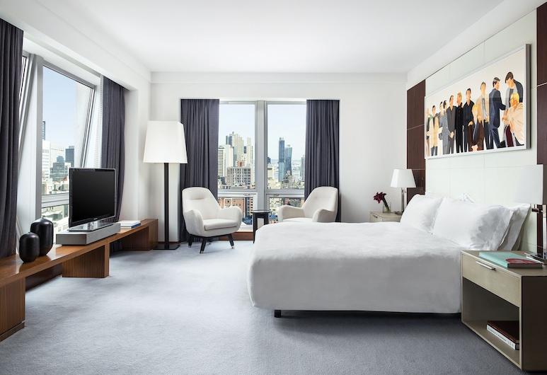 The Langham, New York, Fifth Avenue, Nova York, Quarto executivo, Cozinha, Quarto