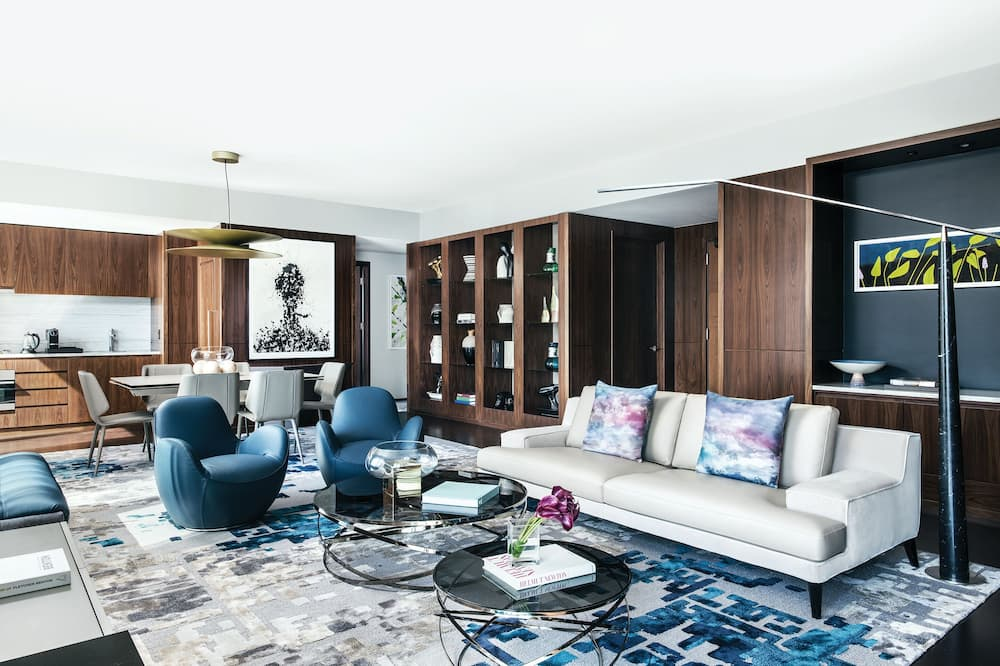 Suite (Empire State Penthouse) - Living Room