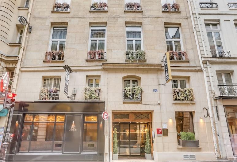 호텔 오페라 망트농, 파리, 호텔 정면