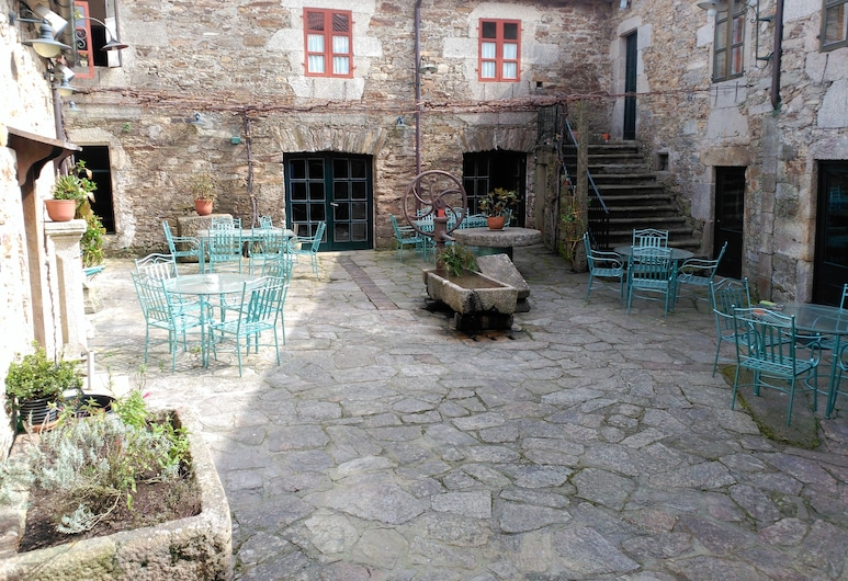 San Nicolas, Santiago de Compostela, Terrasse/Patio
