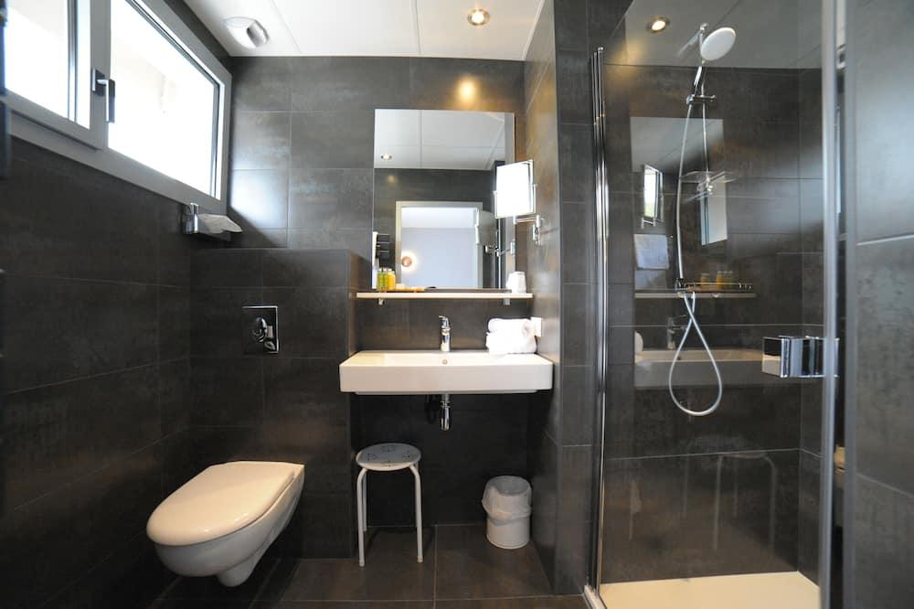 Superior-dobbeltværelse - terrasse - Badeværelse