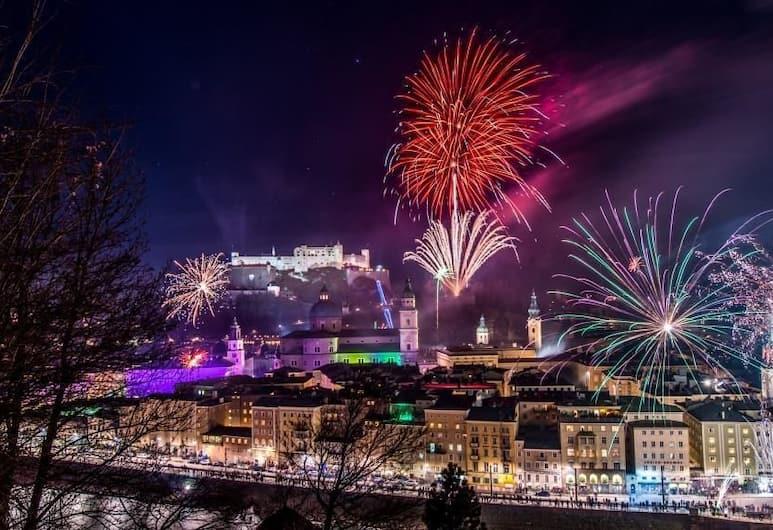 Best Western Plus Amedia Art Salzburg, Salisburgo, Vista dall'hotel