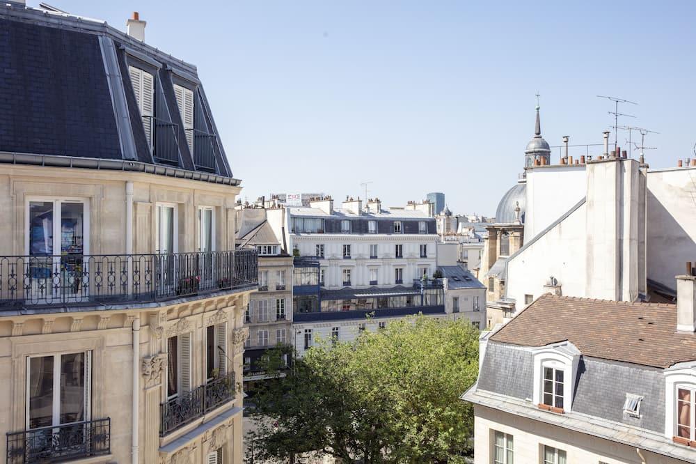 Dobbeltrom for 1 person - Utsikt mot byen