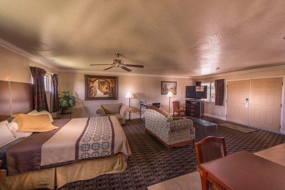 labai didelė lova, nerūkantiems - Vaizdas iš svečių kambario