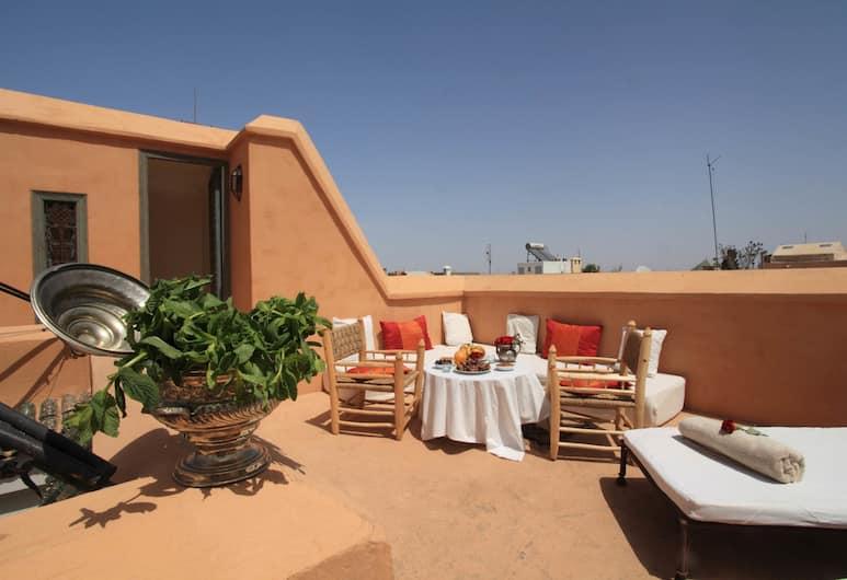 Riad Dar Aicha en Exclusivité , Marrakech, Terrasse/Patio
