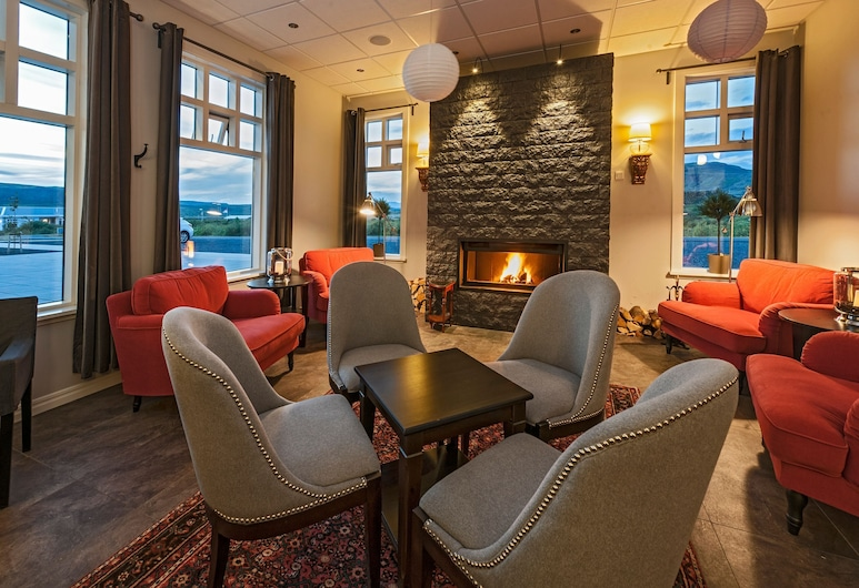 Hotel Grimsborgir – Your Golden Circle Retreat, Selfoss, Bar-salon de l'hôtel