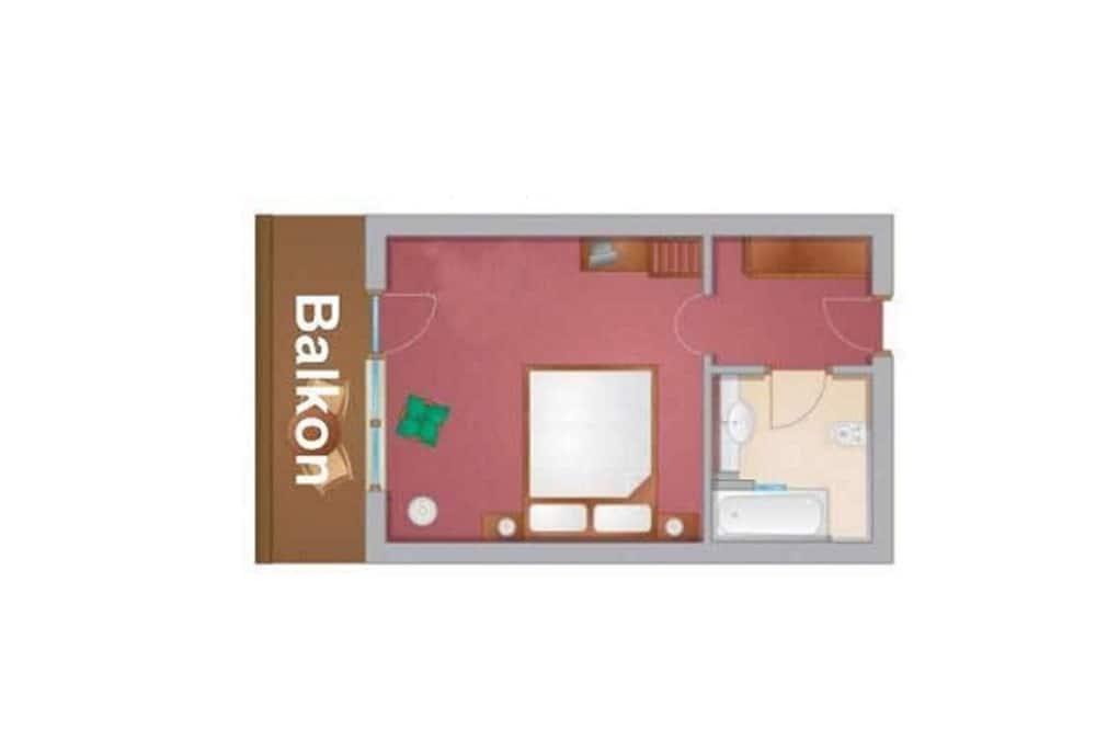 Superior Double Room, Balcony, Mountain View - Living Area