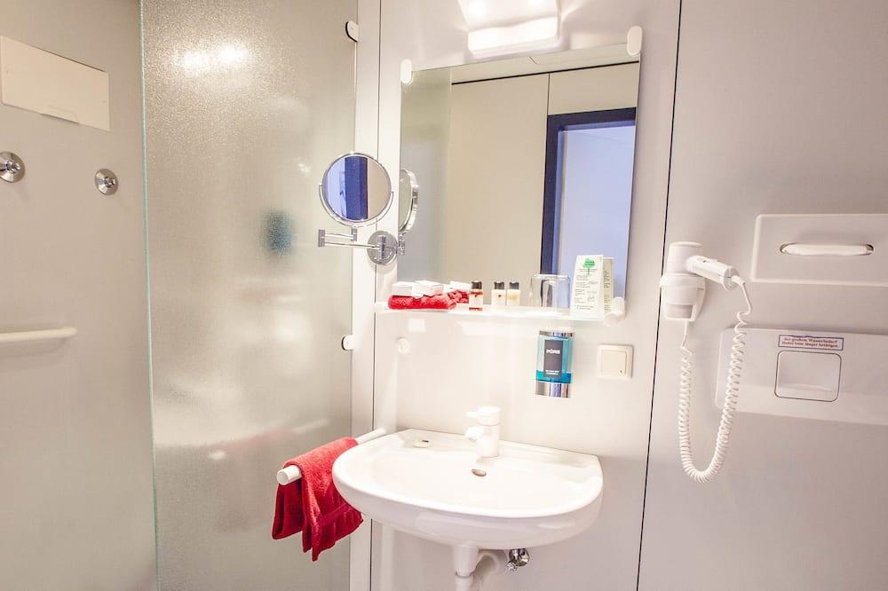 舒適單人房 - 浴室淋浴間