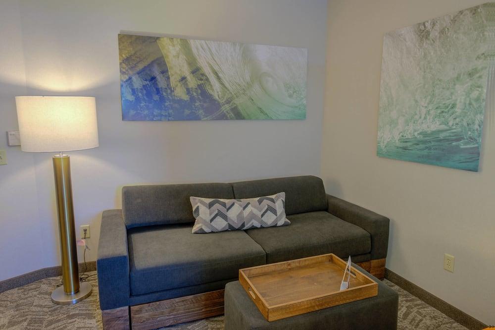 Estudio, 1 cama King size, para no fumadores - Sala de estar