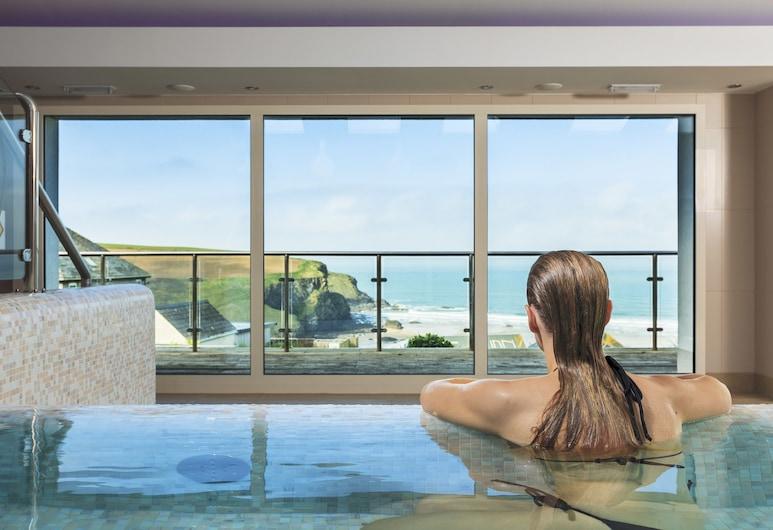 Bedruthan Hotel and Spa, Newquay, Vidaus baseinas