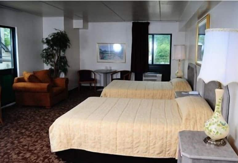 Amber Inn, Chicago, Chambre Double, 2 lits doubles, Chambre