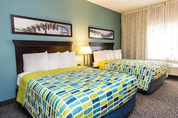 Sandusky bölgesindeki Cedar Point's Express Hotel resmi