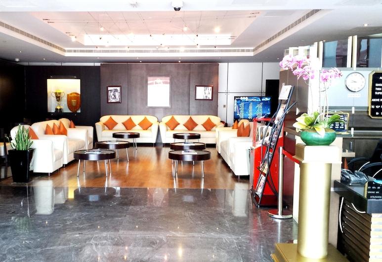 Al Jazira Club Hotel, Abu Dabis, Vestibiulis