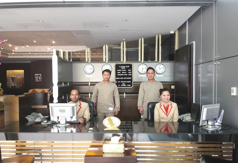 Al Jazira Club Hotel, Abu Dhabi, Eingangsbereich