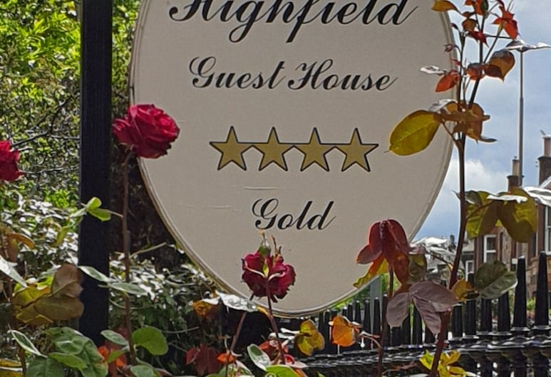 Highfield Guest House, Edinburgh, Exterior