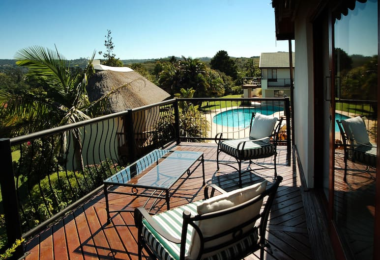 Knysna Country House, Knysna, Luxury Double Room, Balcony, Balcony
