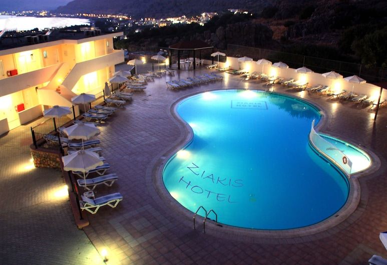 Ziakis Hotel & Studios, Rodas, Alberca al aire libre