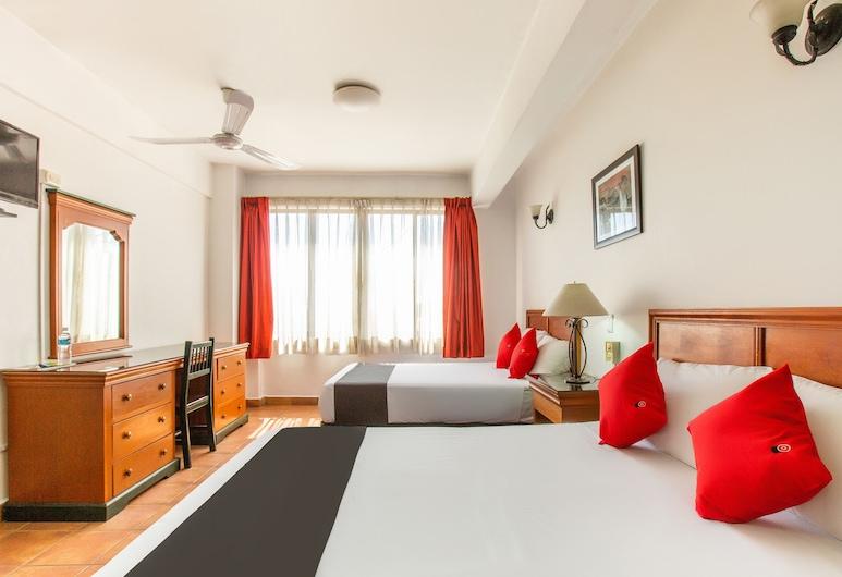 Captial O Hotel Santa Lucia, Oahaka, Standarta numurs, 2 divguļamās karalienes gultas, Skats uz pilsētu