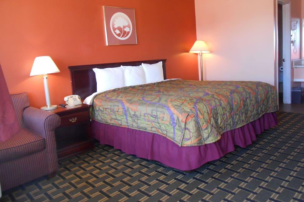 ห้องพัก, เตียงคิงไซส์ 1 เตียง - ห้องพัก