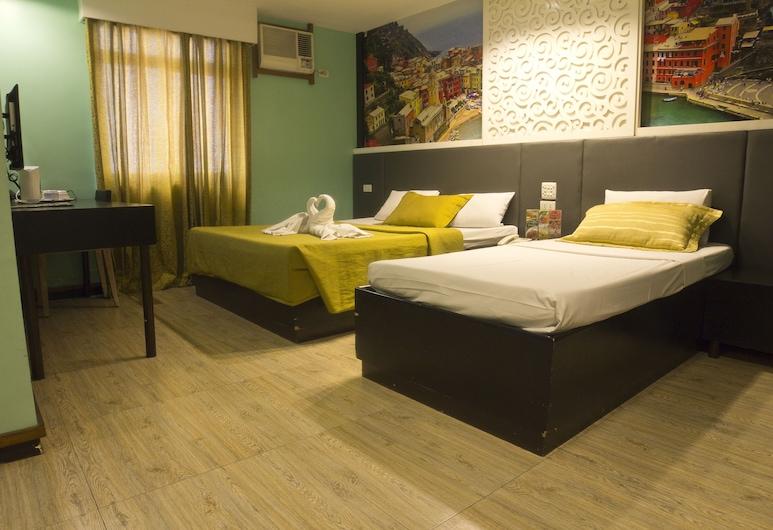 佩德羅吉爾歐洲電信飯店, 馬尼拉, 套房, 客房