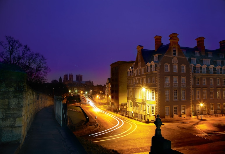 The Grand Hotel & Spa, York, Hotel Front – Evening/Night