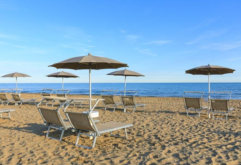 Adriatic Palace Hotel, Jesolo, Spiaggia