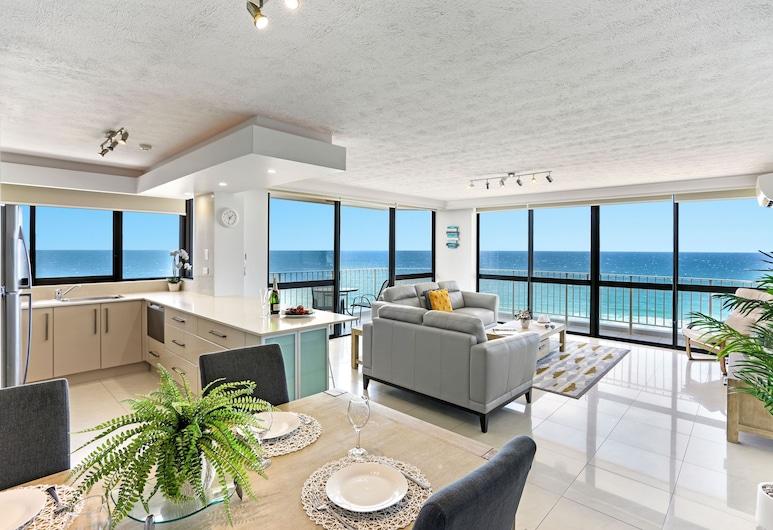 Breakers North Absolute Beach, Surfers Paradise, Apartamento ejecutivo, 2 habitaciones, Habitación