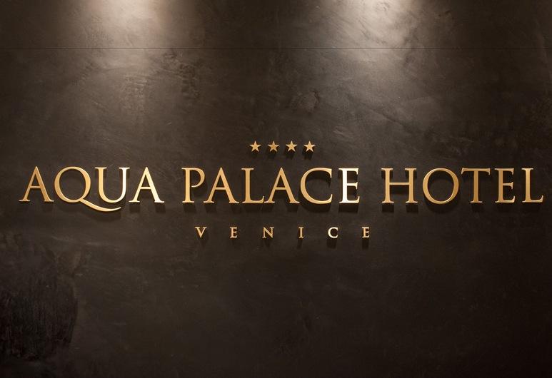Aqua Palace Hotel, Benátky, Interiér hotelu