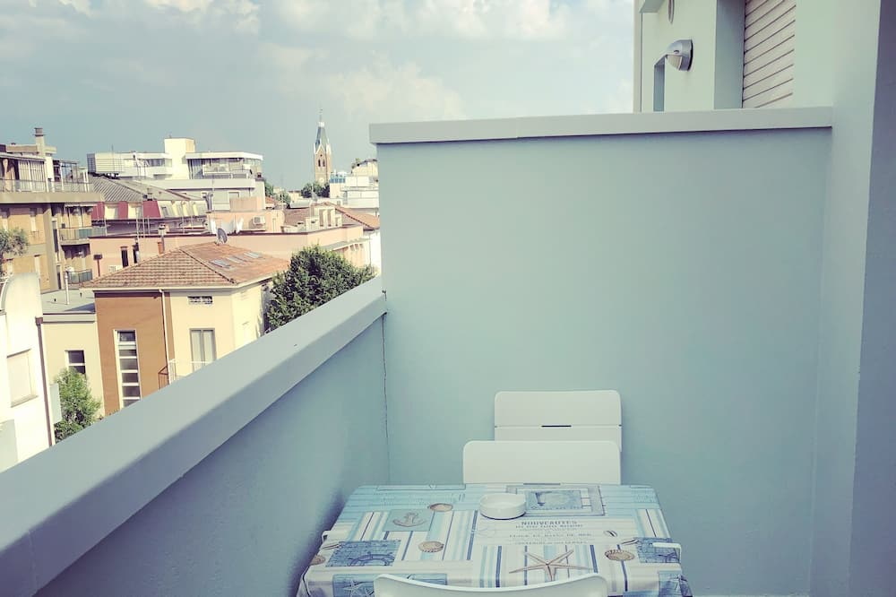Standartinio tipo apartamentai, 2 miegamieji - Balkonas