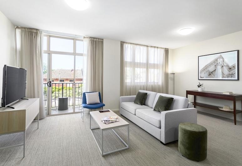 奎斯特巴拉瑞特飯店, Ballarat, 行政公寓, 2 間臥室, 非吸煙房, 廚房, 客廳