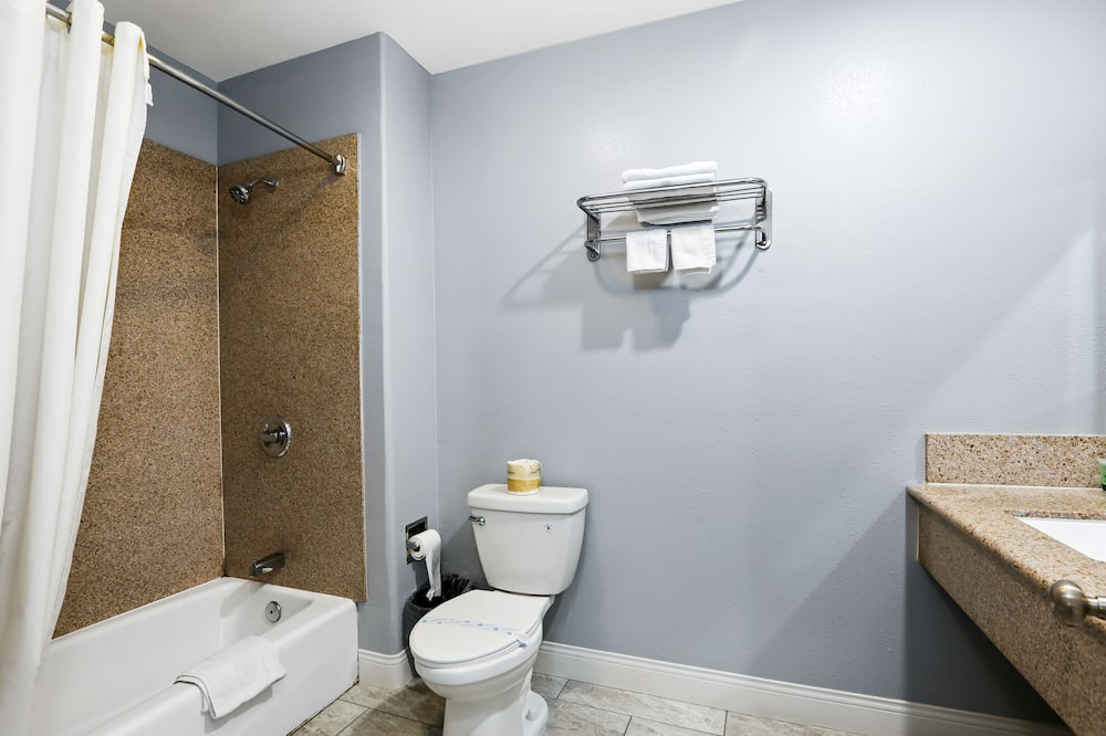 Deluxe Suite, 1 King Bed, Kitchenette - Bathroom