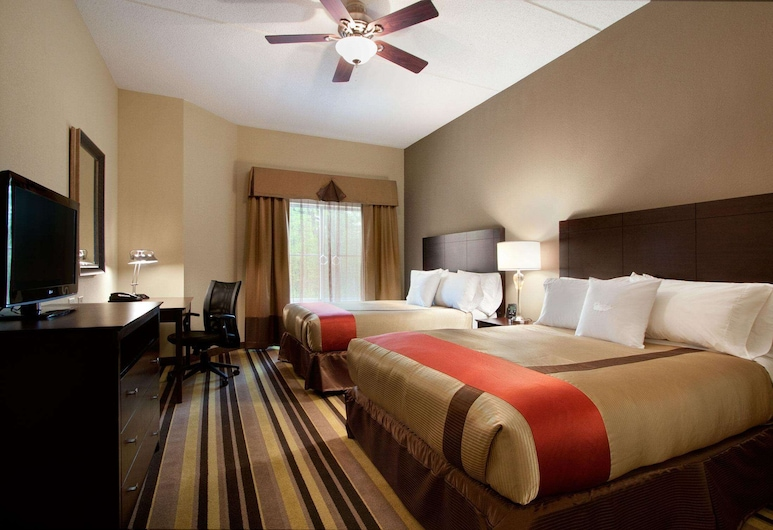 Homewood Suites by Hilton Rochester/Greece, NY, Rochester, Suite, 2 queensize-senger, Gjesterom