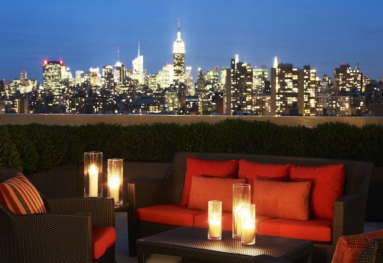 Sheraton Tribeca New York Hotel, Nova York, Quarto club, 1 cama King, para não fumantes, Bar do hotel