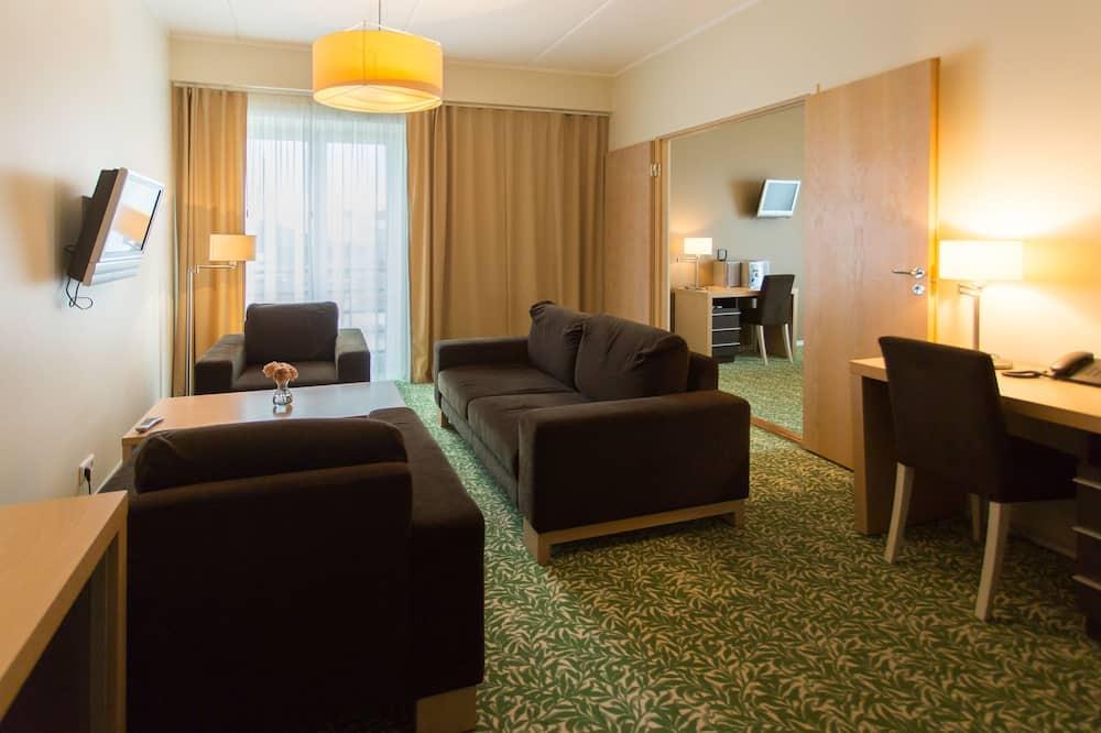 Superior Suite, Sauna - Living Room