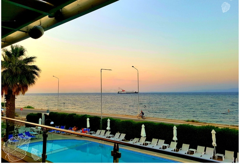 Elysion Hotel, Lesvos, View from Hotel