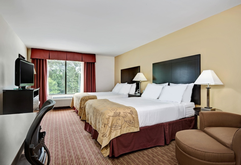 Wingate by Wyndham State Arena Raleigh/Cary, Raleigh, Standard Room, 2 Queen Beds, Guest Room
