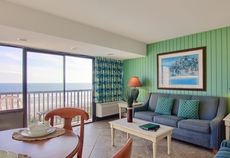 Peppertree by the Sea by Capital Vacations, Норт-Мертл-Біч, Стандартний номер, 1 спальня, З видом на пляж/океан