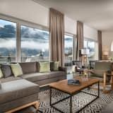 Apartment, Terrace, Mountain View (Alpine Royal) - Living Area