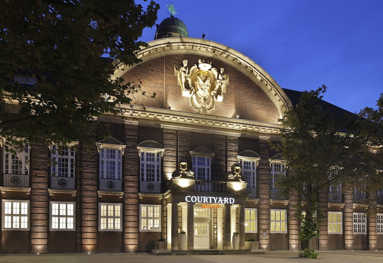 Courtyard by Marriott Bremen, Bremen, Fachada del hotel