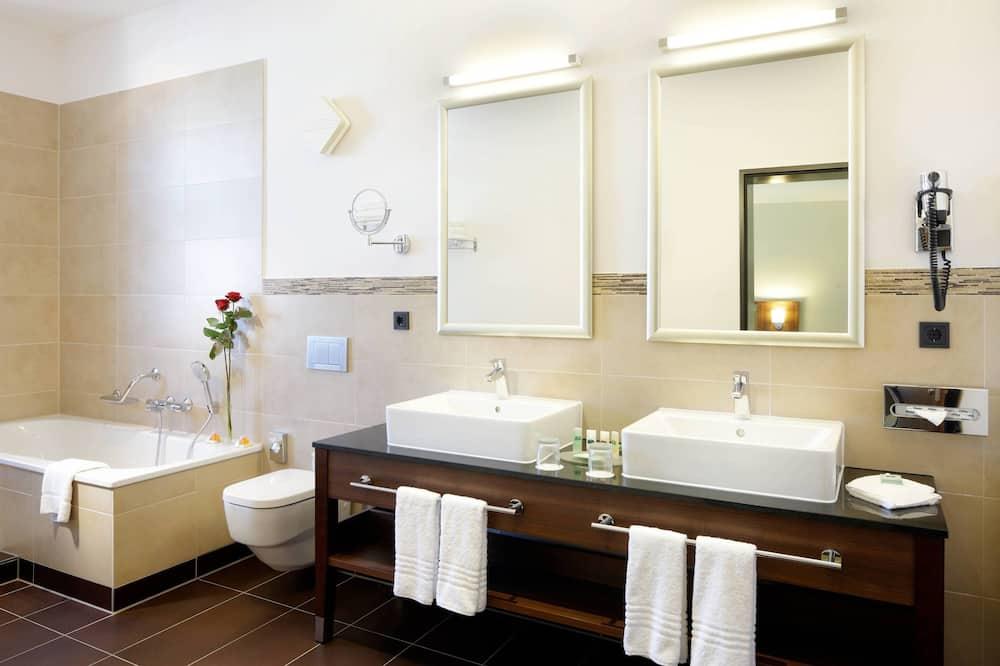 スーペリア ルーム キングベッド 1 台 禁煙 - バスルーム