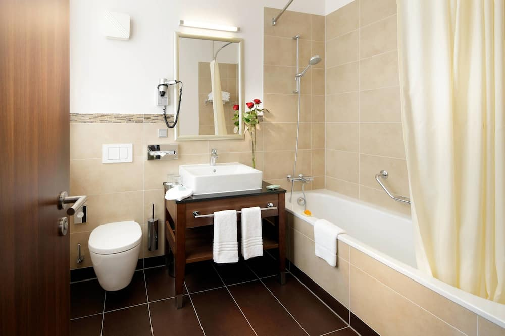 コンフォート ルーム キングベッド 1 台 禁煙 - バスルーム