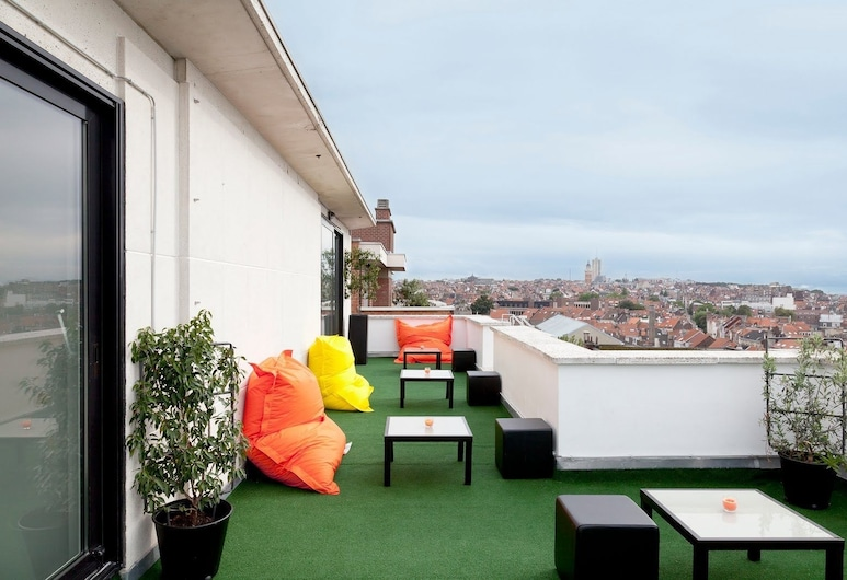 The Pantone Hotel, Brussels, Terrace/Patio
